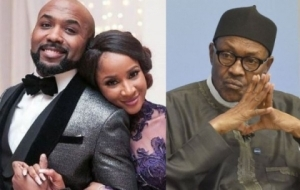Adesua Etomi & Banky W React To Claim Of Banky Being Paid To Promote Buhari